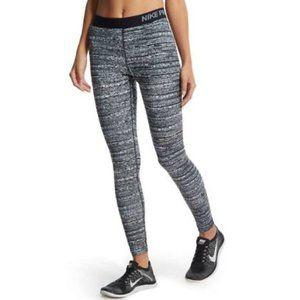 Nike PRO Dri-Fit Static Leggings Black Grey